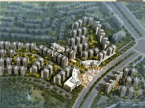 安置区住宅文本资料下载-[四川]现代风格住宅安置区规划设计方案文本