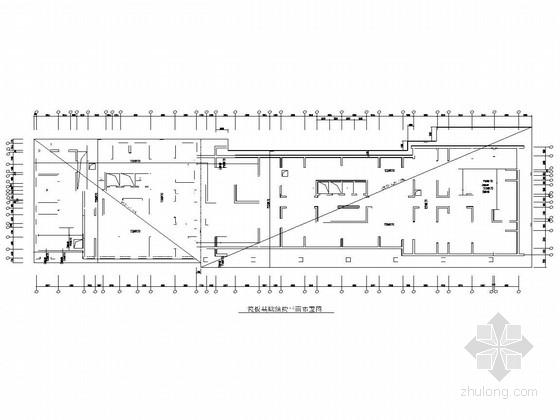 38层塔式剪力墙结构超高层住宅结构施工图(桩筏基础)