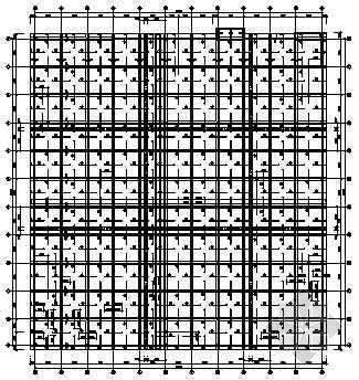 某多层框架结构大型商场结构设计图纸