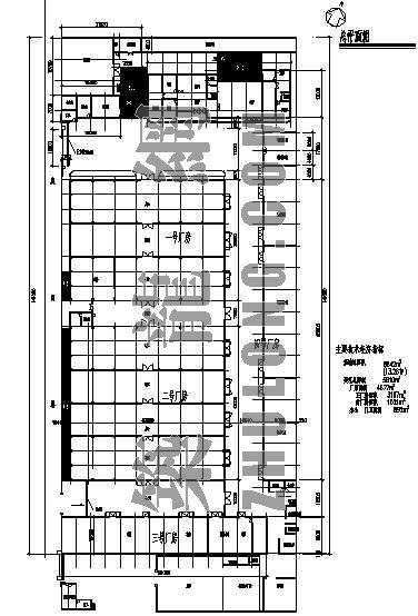 上海张江原电机厂总平面置图