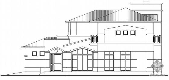 某二层小型别墅建筑施工图