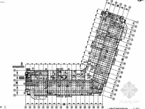上海某世贸商城初步设计全套图纸