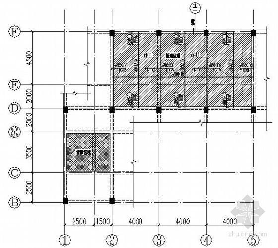 办公楼新增钢楼梯节点构造详图