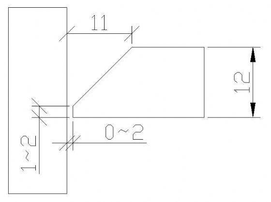 钢结构钢板焊接节点详图