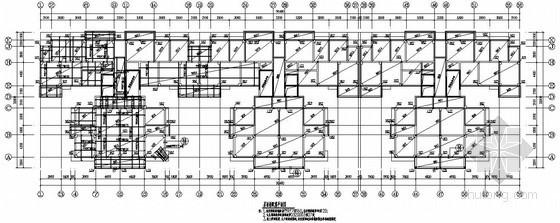 [武汉]框剪结构高层住宅结构施工图(18层 墩基础)