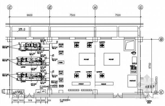 地源热泵机房电气施工图纸