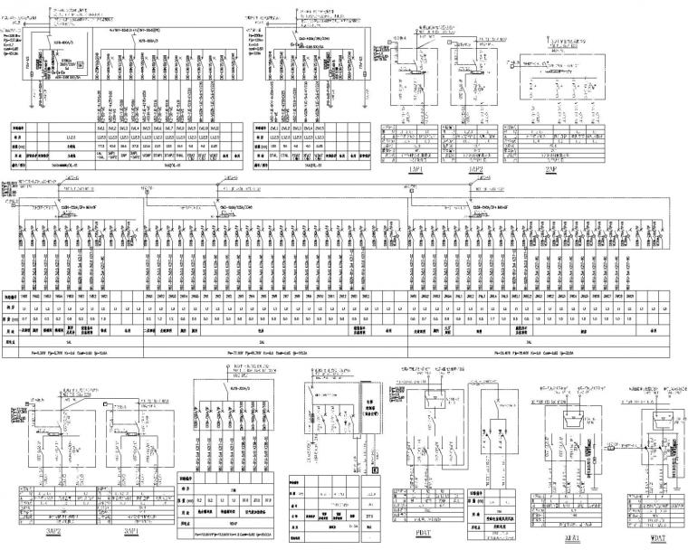 餐厅电气消防资料下载-[贵州]酒店配套餐厅电气施工图