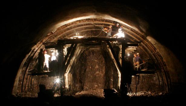 多图详解:隧道CRD施工工法(交叉中隔壁法)