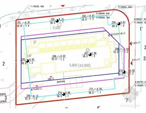 [浙江]14层框架结构办公楼勘察报告(详细勘察)
