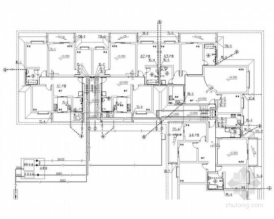 多层住宅建筑给排水设计