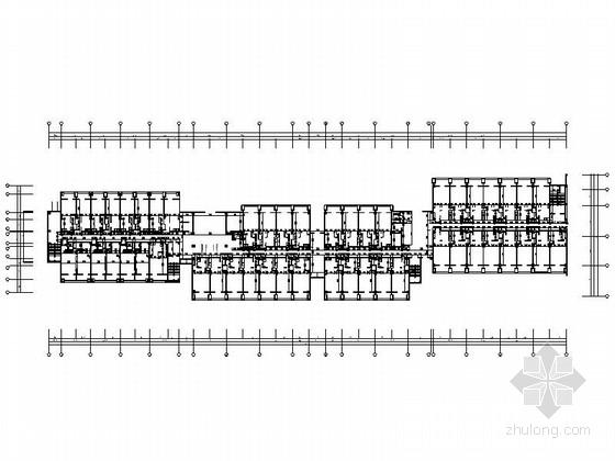 [天津]现代风格快捷酒店设计CAD施工图(含效果图)