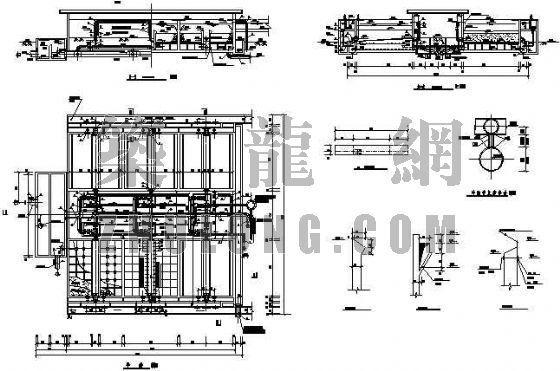 v型滤池工艺图资料下载-V型滤池工艺图
