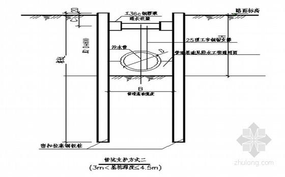 [广东]市政管道深基坑开挖安全专项施工方案专家评审汇报