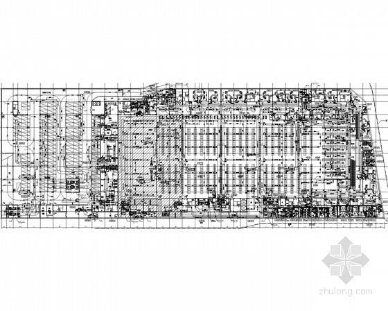 vrv空调施工程序资料下载-连锁便利超市空调通风系统设计施工图(机房详图多)
