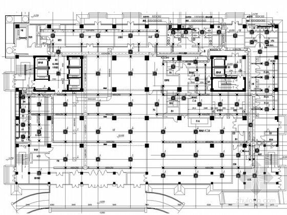 [山东]医院病房综合楼空调通风排烟系统设计施工图(蒸汽管网 制冷机房)