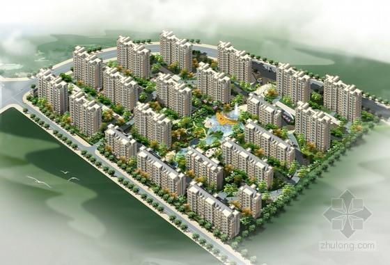 [广东]2015小区居民楼及配套用房建筑安装工程量清单计价实例(超详细图纸)