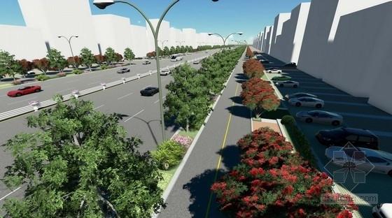 [海南]城市道路景观绿化方案设计
