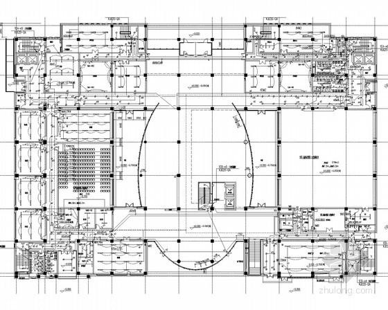 [上海]知名综合办公楼全套强弱电电气图纸188张