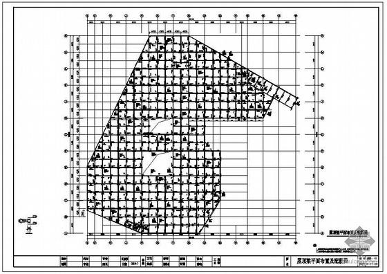 长沙某广场及停车场馆结构设计图