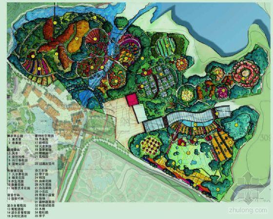 [陕西]某旅游景区环境景观概念性设计方案