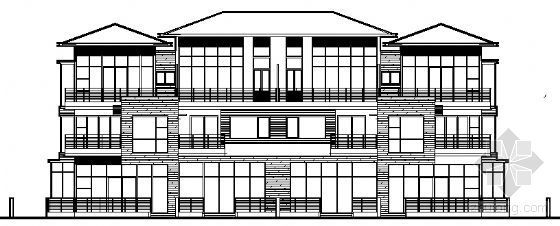 丹堤A区24、26、27号楼建筑施工图
