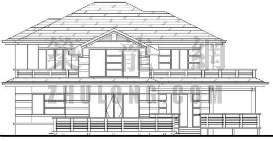 某别具特色的别墅建筑设计方案