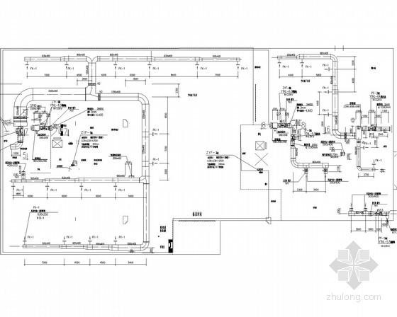 [山东]住宅建筑地下室平时及战时通风系统设计施工图(详图多)