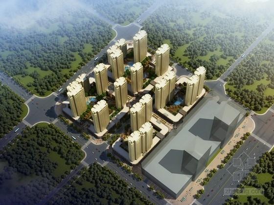 [安徽]住宅区规划及单体设计方案文本