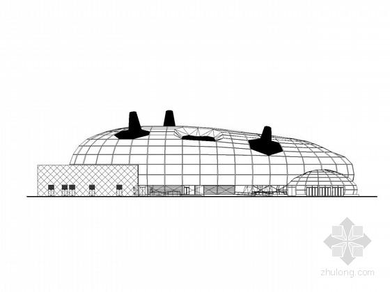 [上海]三层世博馆建筑施工图