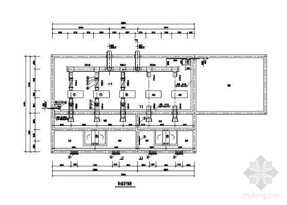 某取水泵站设计图