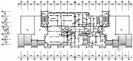 某医院综合楼全套电气设计图