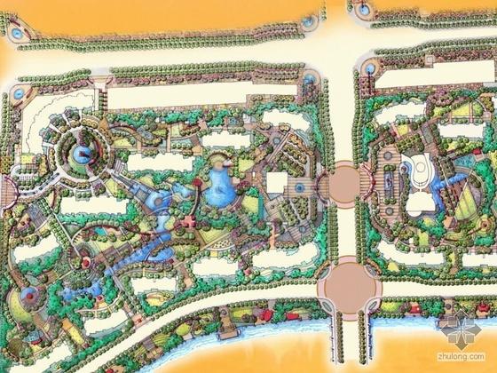 北京居住区景观设计方案