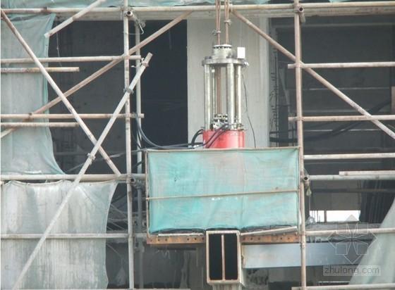 [浙江]超高层双塔楼钢结构连廊提升施工方案(连廊跨度45.4m)
