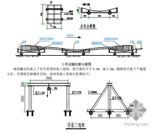 框架结构预应力斜拉索施工工法(2008年)
