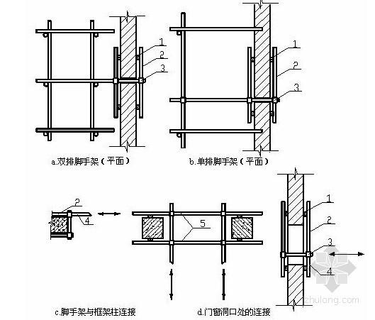 [江苏]框架结构厂房脚手架工程专项施工方案
