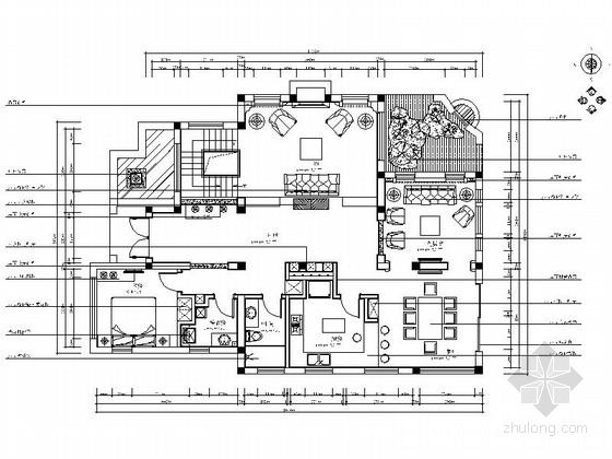 [南通]现代简欧双层联排别墅装修图(含效果)