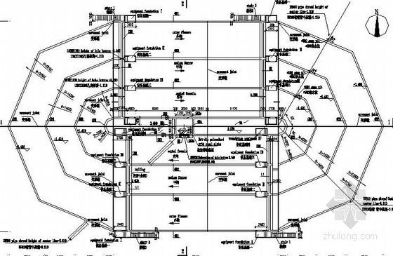 [安哥拉]污水处理厂氧化沟结构施工图