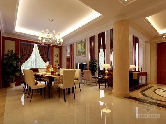 欧式豪华别墅居室