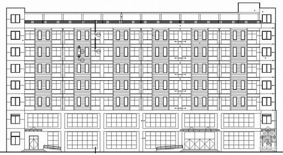 [广厦]某七层单身公寓建筑施工图(带效果图)