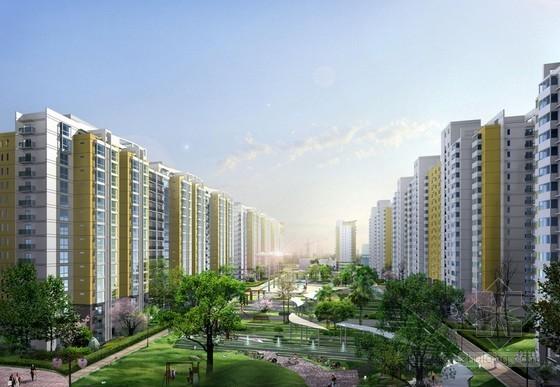 [河南]大型住宅区地下商业建筑安装工程预算书(含广联达套价)