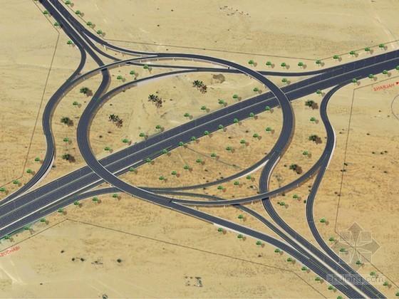 [迪拜]名企编制双向六车道市政道路改造工程施工组织设计86页(图表丰富)