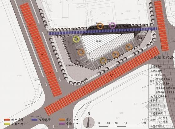 [安徽]七层开放抒情性办公综合体建筑设计方案文本-七层开放抒情性办公综合体建筑分析图