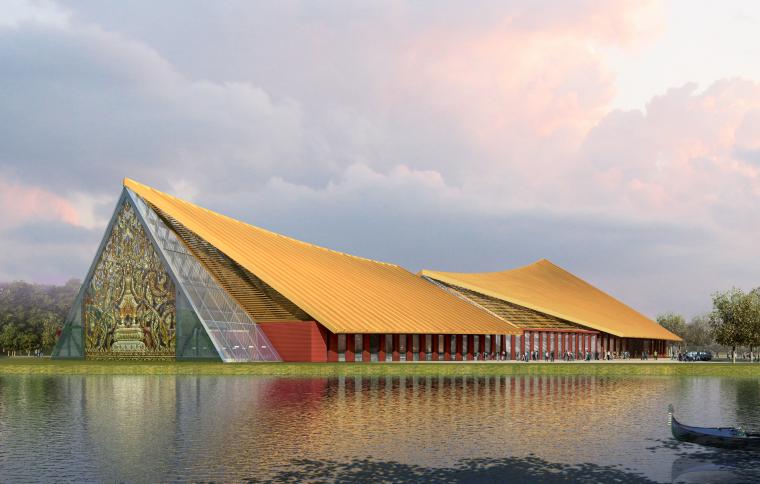 [云南]东南亚风格景区民族特色餐厅设计方案文本+施工图+模型(PDF+CAD+3D)