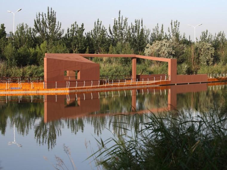 银川艾依河公园
