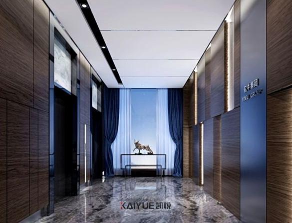 亿牛信息科技公司会所室内设计装修-效果图_2