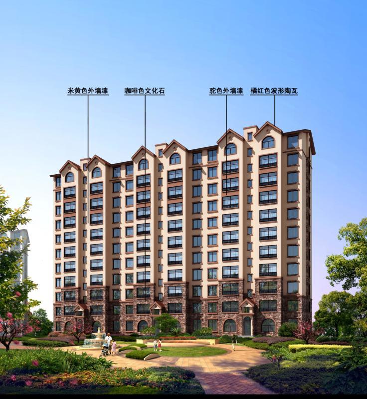 [施工图][广东]高层砖混结构石材外墙塔式住宅建筑施工图