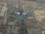 北京大兴国际机场初露妆容,看看航拍图!