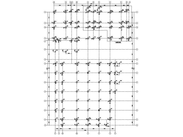 [浙江]地上六层框架结构职工之家结构施工图