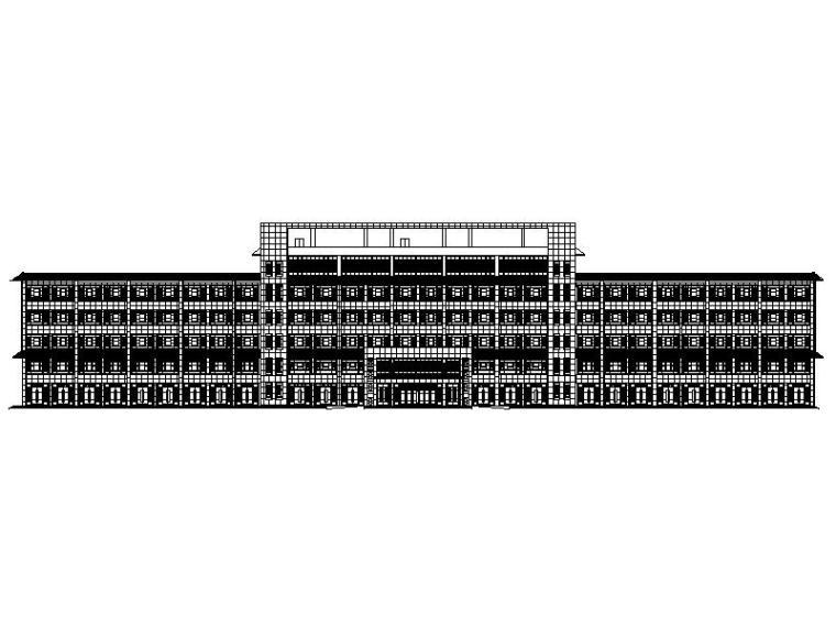 [宁夏]现代风格坡屋顶生产区综合楼施工图