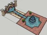 欧式风格小庭院设计